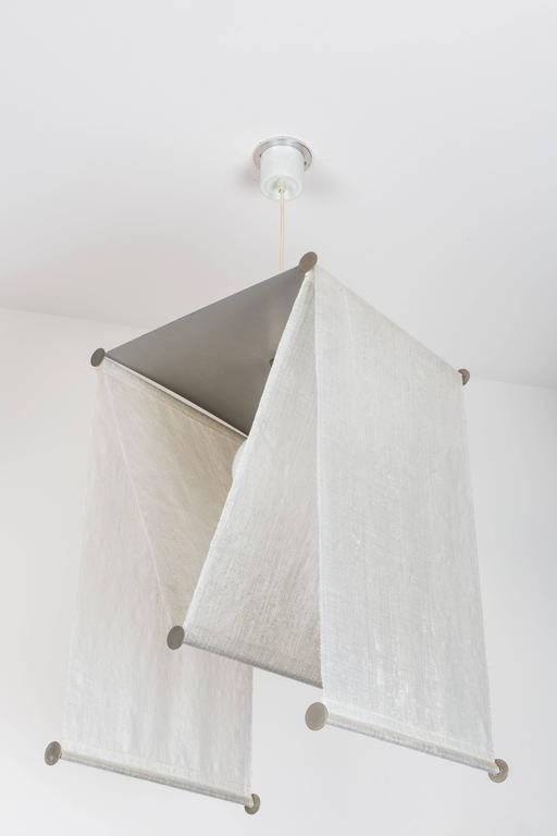 Achille and Pier Giacomo Castiglioni Suspension Light for Flos In Fair Condition For Sale In Los Angeles, CA