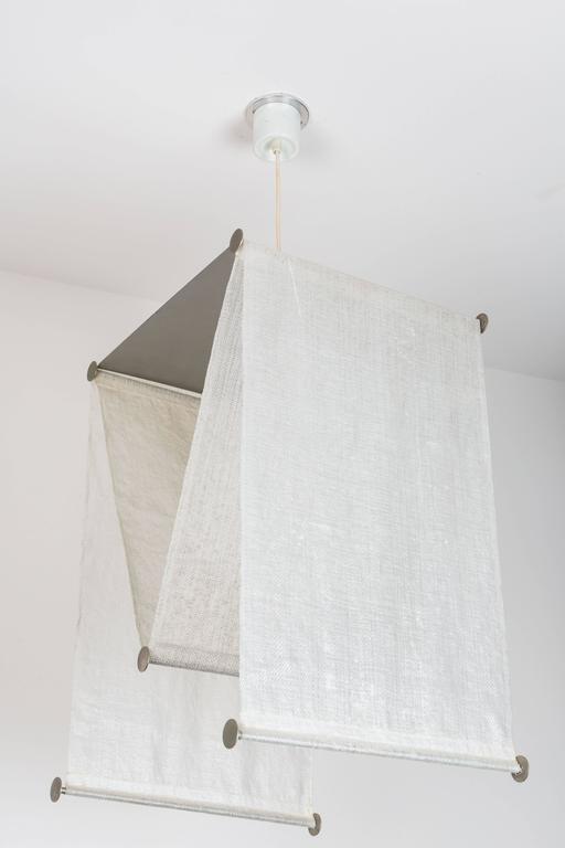 Italian Achille and Pier Giacomo Castiglioni Suspension Light for Flos For Sale