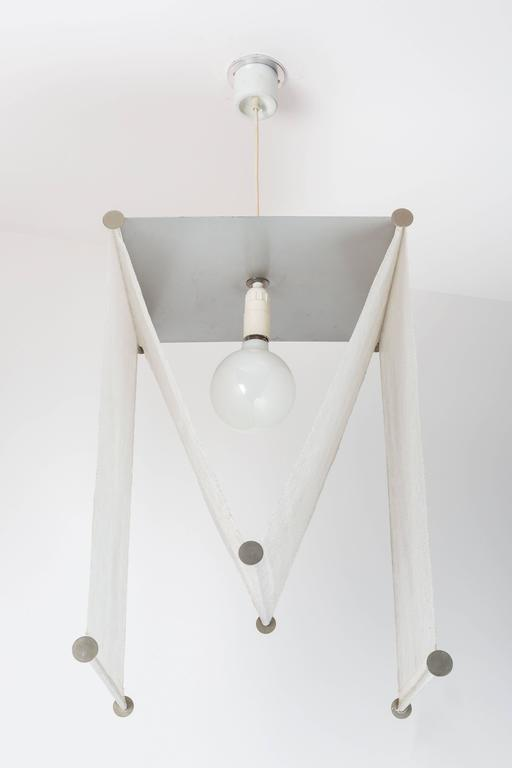 Varnished Achille and Pier Giacomo Castiglioni Suspension Light for Flos For Sale