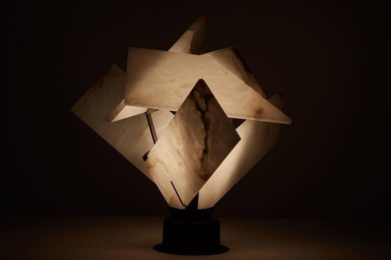 Flower Table Lamp by Pierre Chareau 7