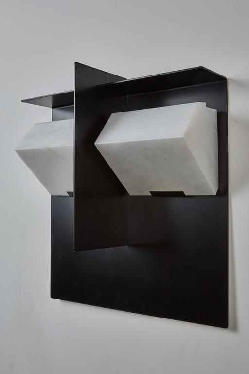 """Mask"" Wall Lamp by Pierre Chareau 4"