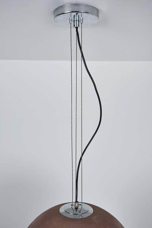 scavo murano glass pendant by alfredo barbini at 1stdibs