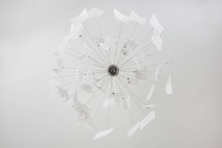 Zettel'z 5 Chandelier by Ingo Maurer 8
