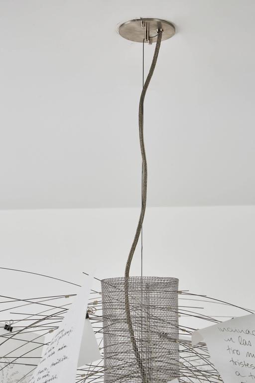 Zettel'z 5 Chandelier by Ingo Maurer 9