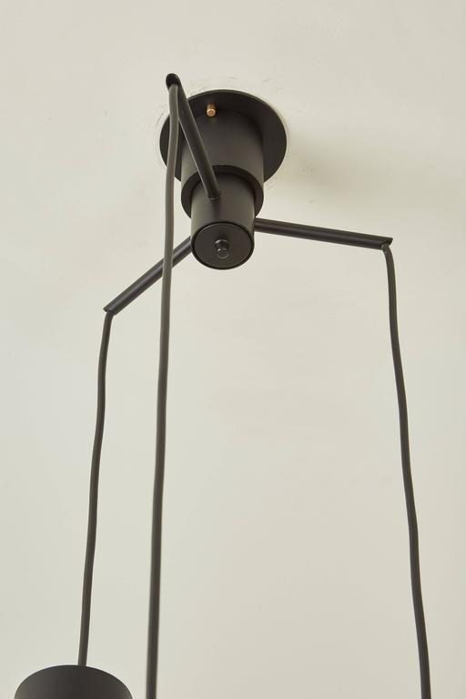 Three Globe Chandelier by Gino Sarfatti for Arteluce 5