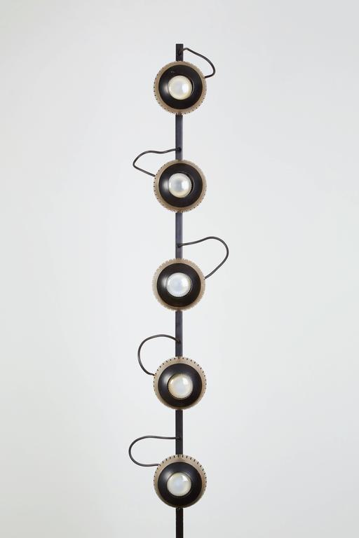 Rare Floor Lamp by Angelo Lelli for Arredoluce 4