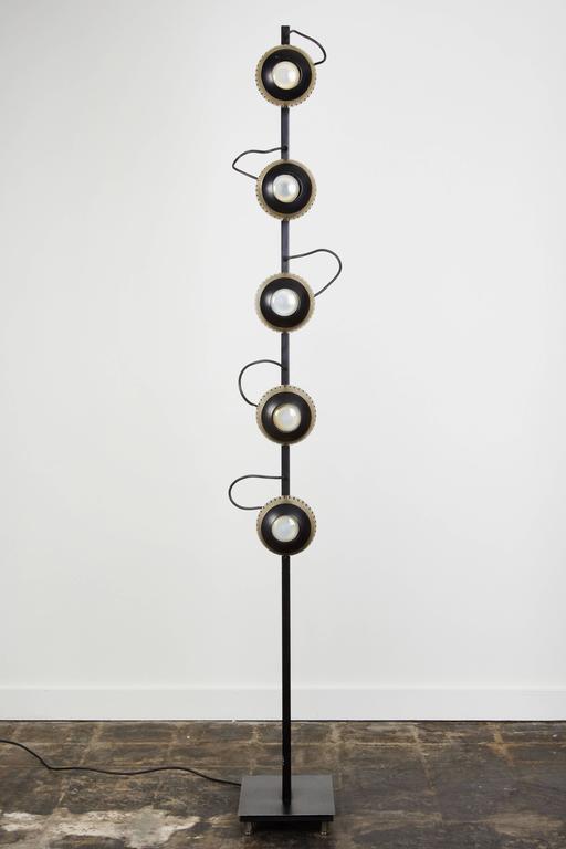 Rare Floor Lamp by Angelo Lelli for Arredoluce 3