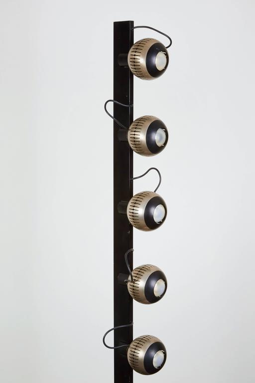 Rare Floor Lamp by Angelo Lelli for Arredoluce 5