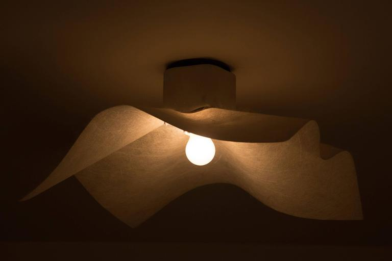 "Six ""AREA"" Wall or Ceiling Lights by Mario Bellini for Artemide 3"