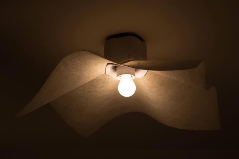 "Six ""AREA"" Wall or Ceiling Lights by Mario Bellini for Artemide 4"