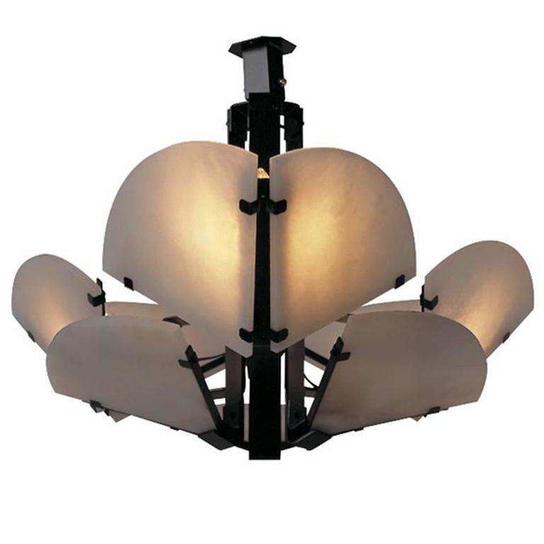 Quarte De Rond Ceiling Light by Pierre Chareau 1