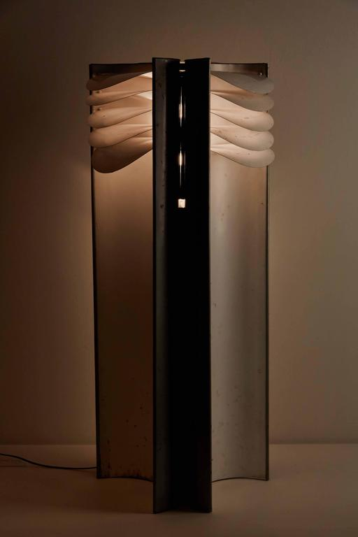 """Rare """"Falena"""" Floor Lamp by Mario Bellini for Candle 3"""