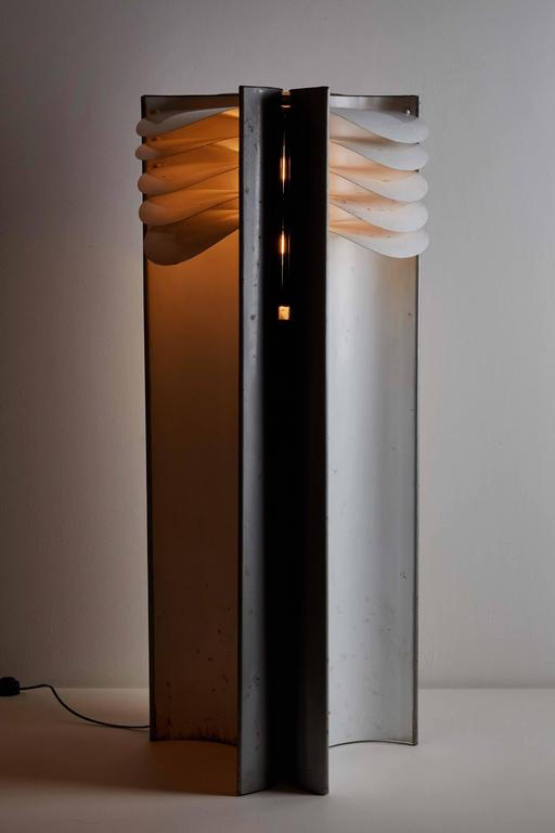 """Rare """"Falena"""" Floor Lamp by Mario Bellini for Candle 4"""