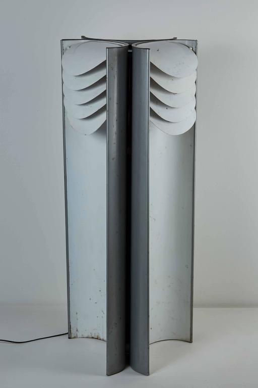 """Rare """"Falena"""" Floor Lamp by Mario Bellini for Candle 8"""
