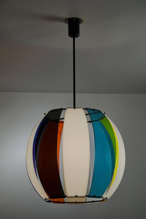 Perspex Pendant Light By Casey Fantin At 1stdibs