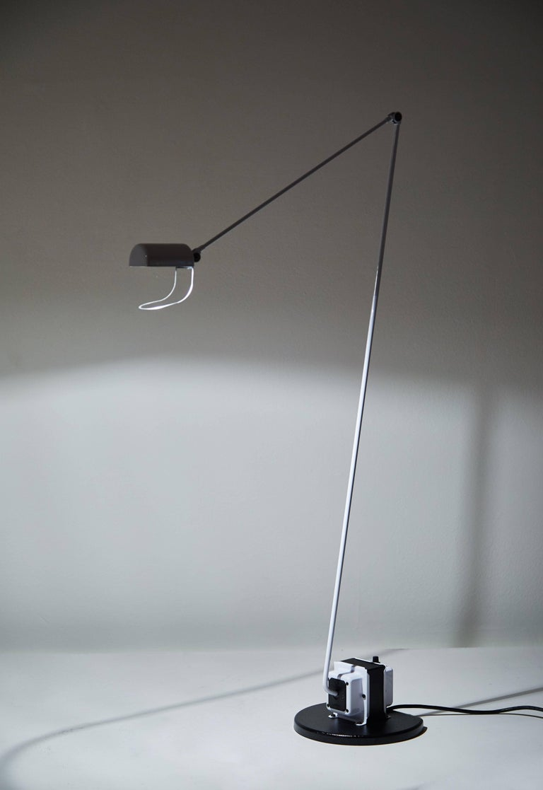 Mid-Century Modern Daphine Terra Floor Lamp by Tommaso Cimini For Sale