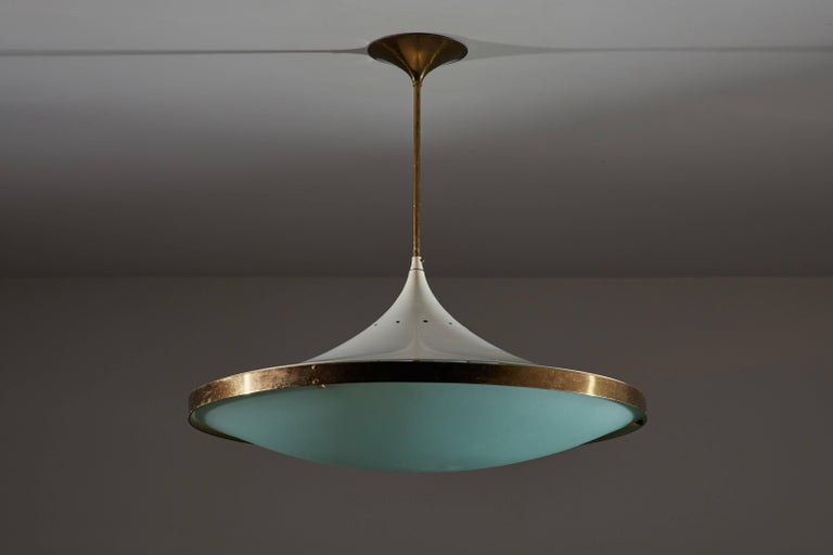 Mid-20th Century Model 2064 Chandelier by Max Ingrand for Fontana Arte For Sale