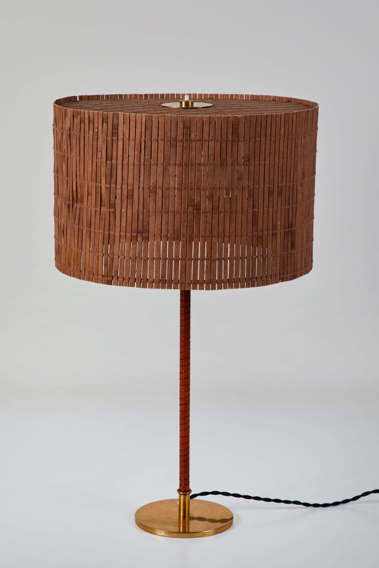 Model 9205 Table Lamp by Paavo Tynell for Taito Oy In Excellent Condition For Sale In Los Angeles, CA