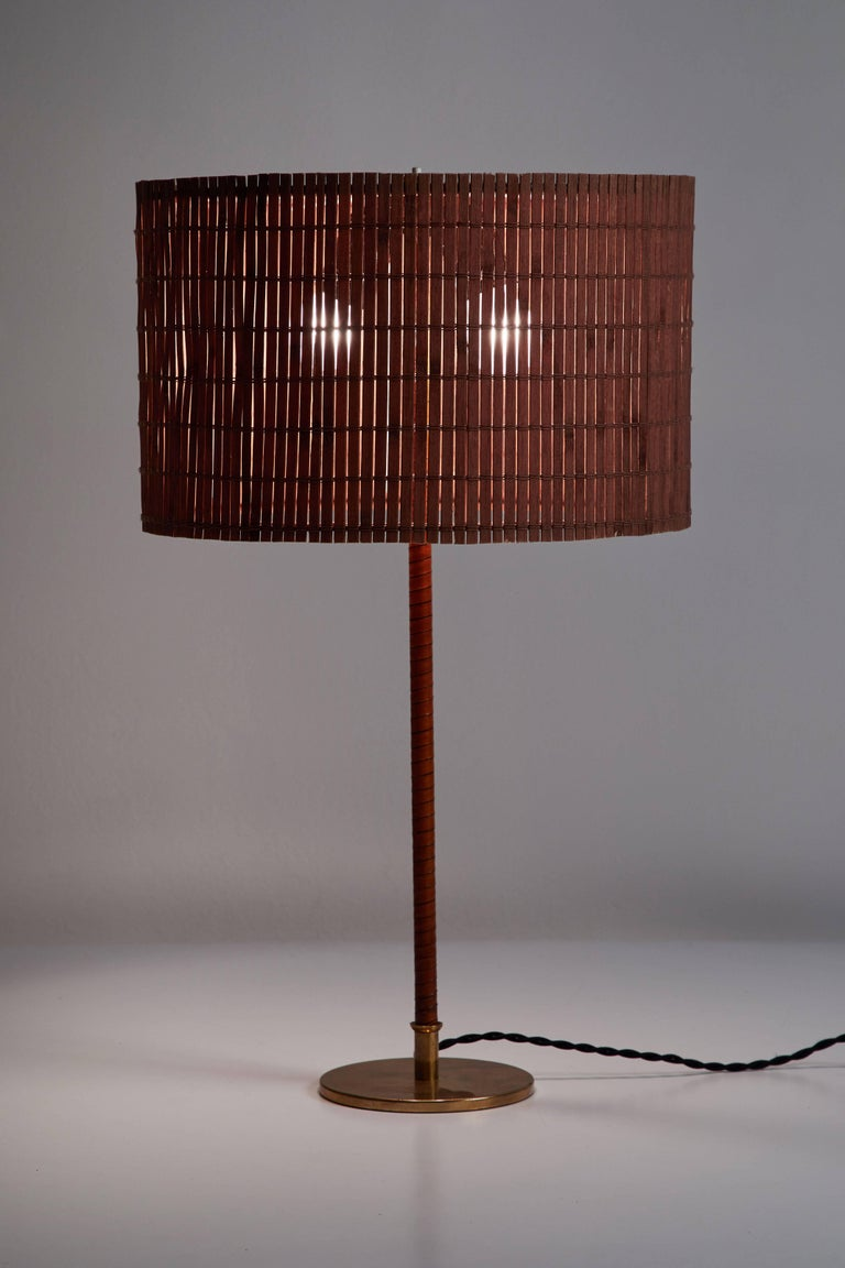 Model 9205 Table Lamp By Paavo Tynell For Taito Oy Designed And Manufactured In Finland