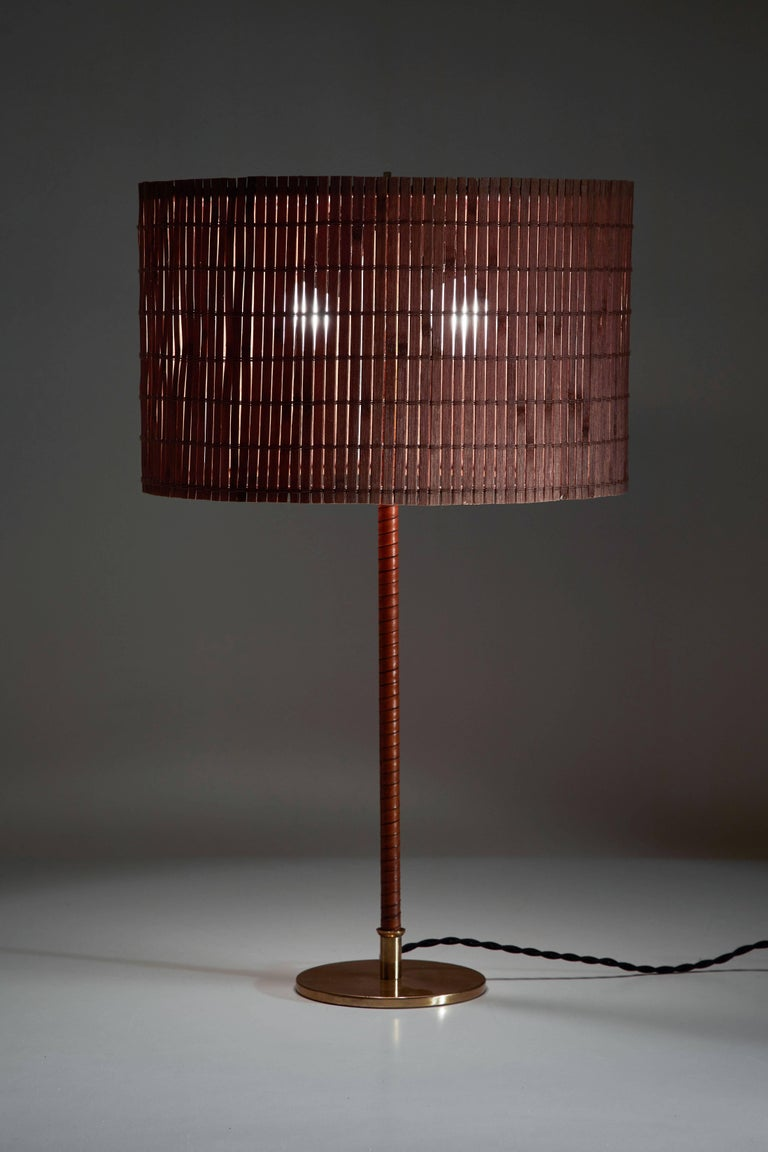 Mid-Century Modern Model 9205 Table Lamp by Paavo Tynell for Taito Oy For Sale