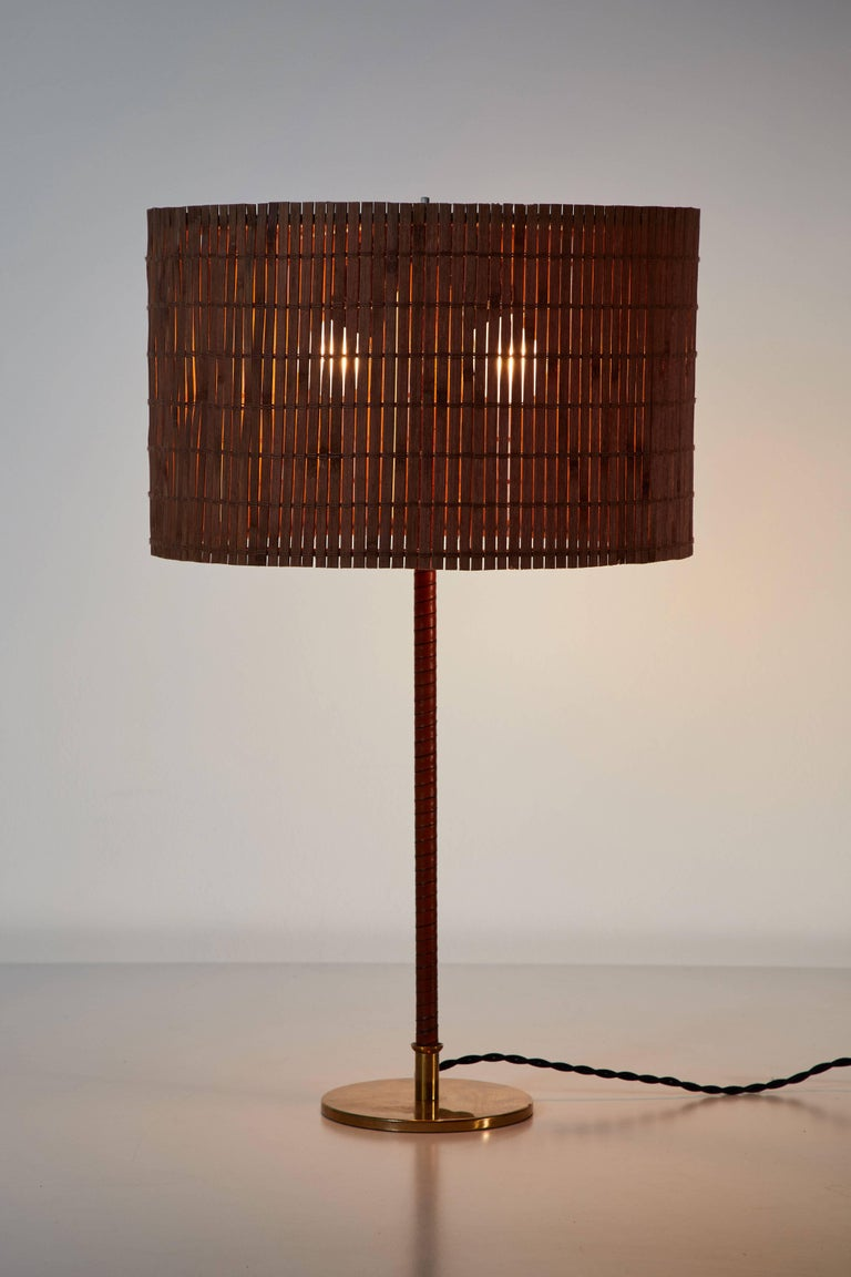 Finnish Model 9205 Table Lamp by Paavo Tynell for Taito Oy For Sale