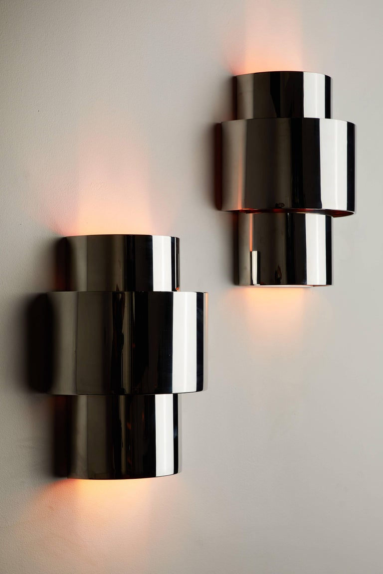 """Pair of """"Love"""" Sconces by Willy Rizzo 2"""