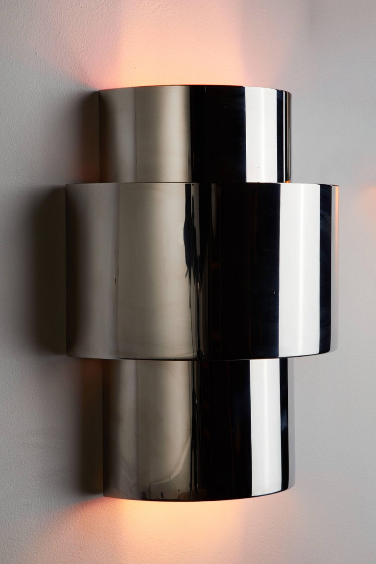 """Pair of """"Love"""" Sconces by Willy Rizzo 6"""