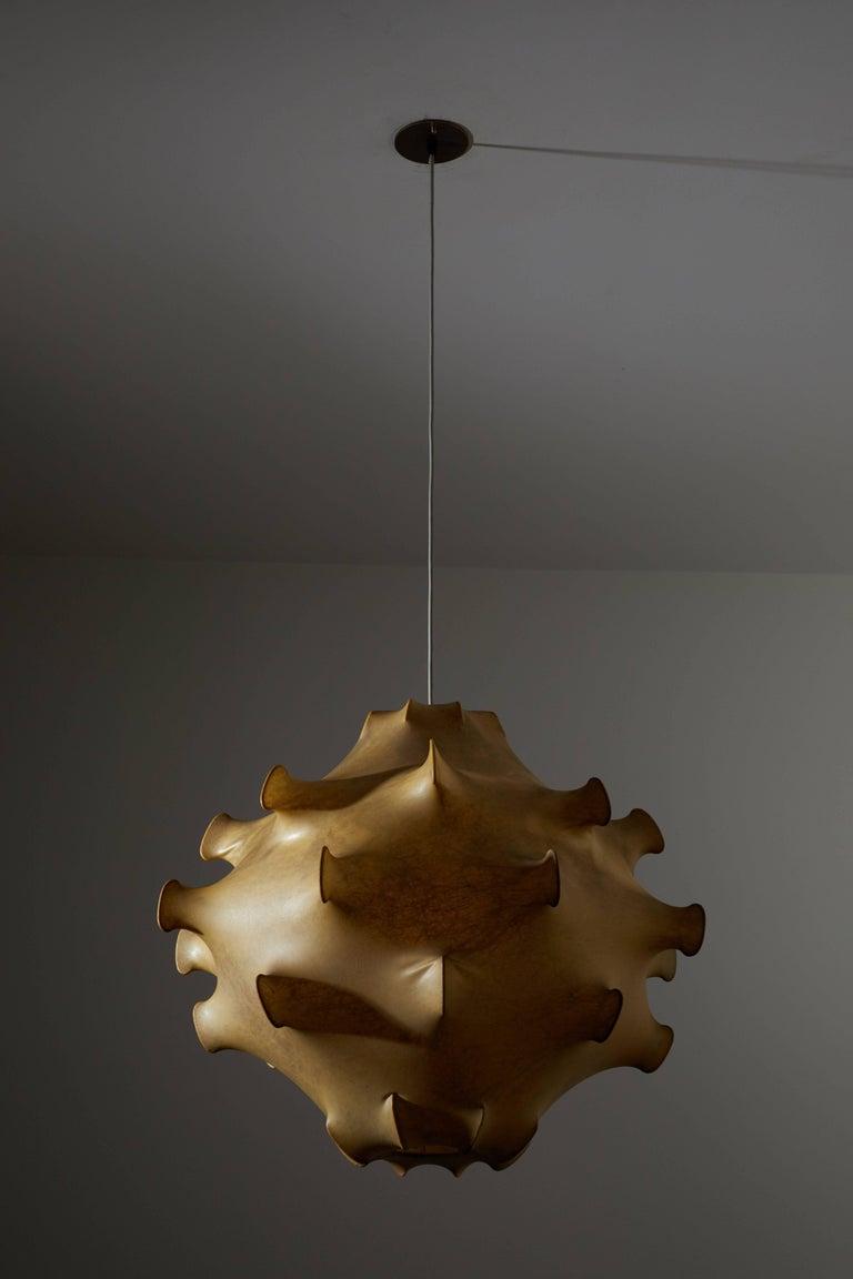 Taraxacum Pendant Light by Achille and Pier Giacomo Castiglioni In Good Condition For Sale In Los Angeles, CA