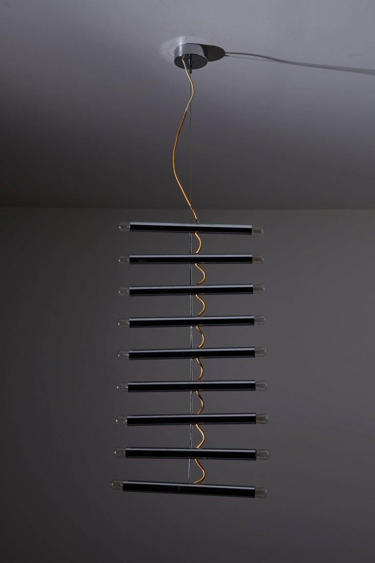 Rare Chandelier by Pia Guidetti Crippa for Lumi 3