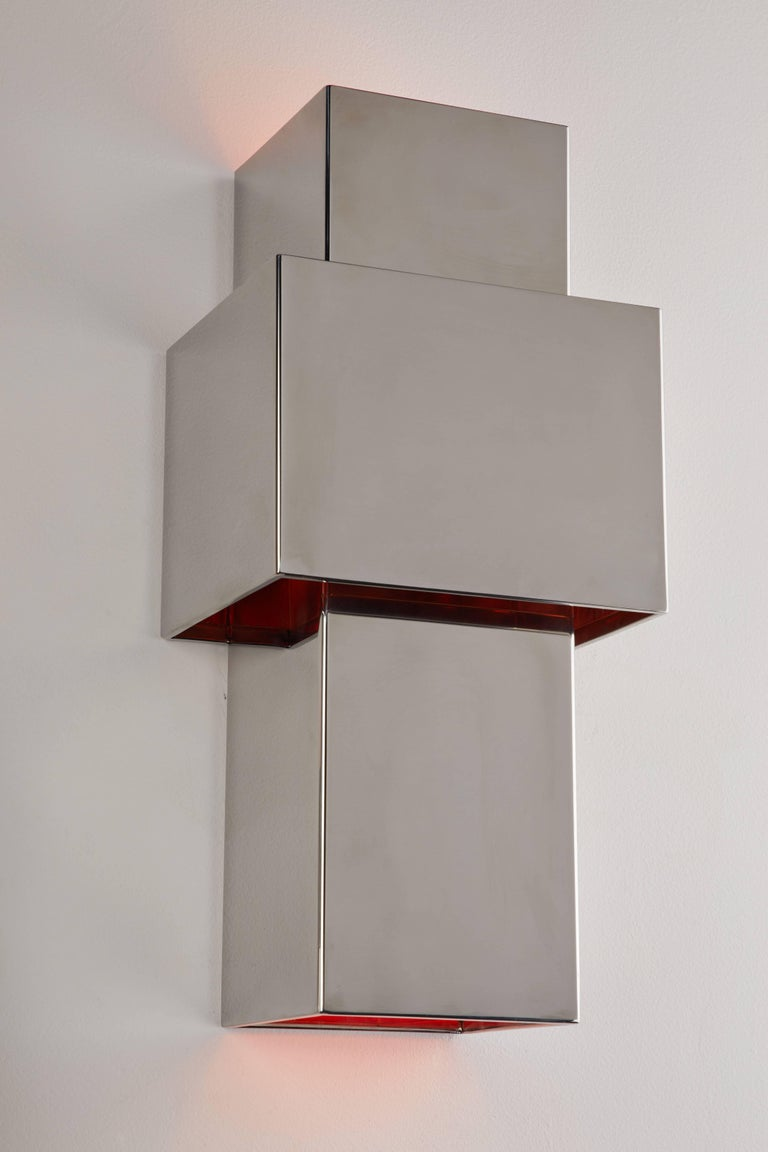 "Pair of ""Love"" Sconces by Willy Rizzo for Italia 6"