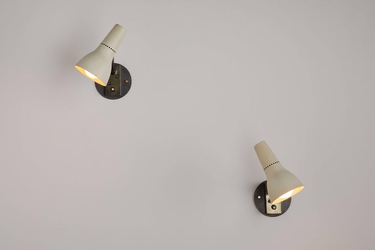 Pair of Sconces by Giuseppe Ostuni for Oluce 2