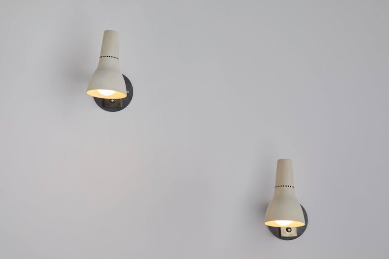 Pair of Sconces by Giuseppe Ostuni for Oluce 3