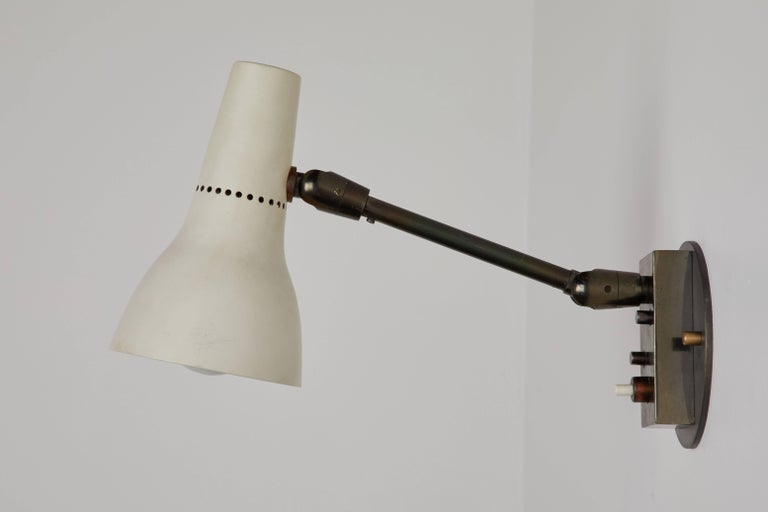 Pair of Sconces by Giuseppe Ostuni for Oluce 7