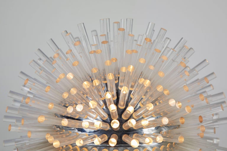 Metal Rare Table Lamp by Marzio Cecchi For Sale