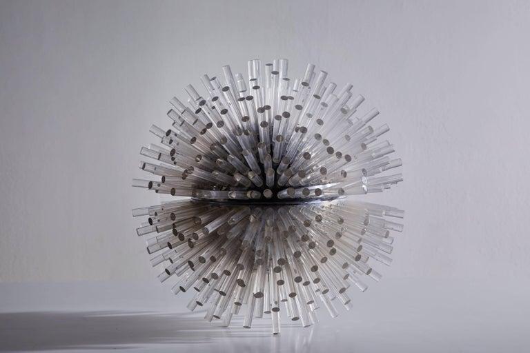 Italian Rare Table Lamp by Marzio Cecchi For Sale