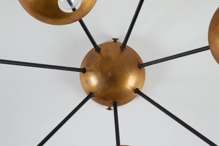 Mid-20th Century Model 1036 Wall or Ceiling Light by Stilnovo For Sale