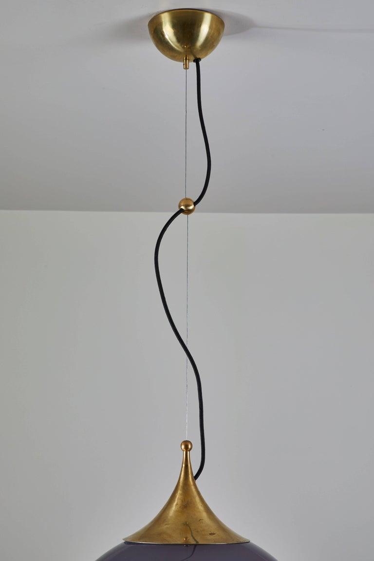 Two Suspension Lights by Stilnovo For Sale 1