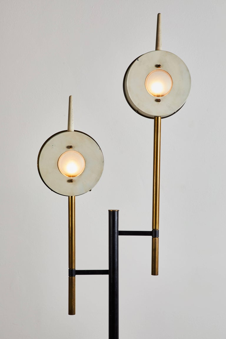 Rare Floor Lamp in the style of Angelo Lelli for Arredoluce In Good Condition For Sale In Los Angeles, CA