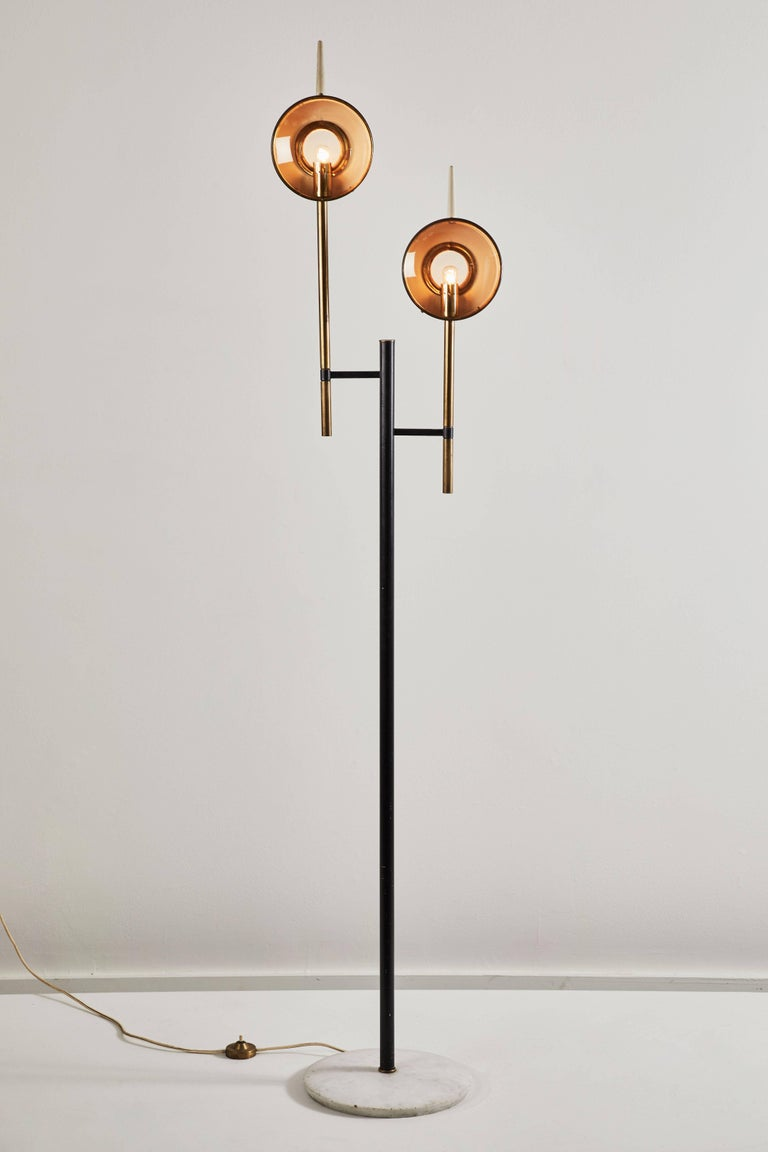 Italian Rare Floor Lamp in the style of Angelo Lelli for Arredoluce For Sale