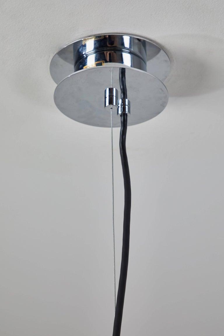 Metal M68 Suspension Light by Miguel Milá for Santa & Cole For Sale