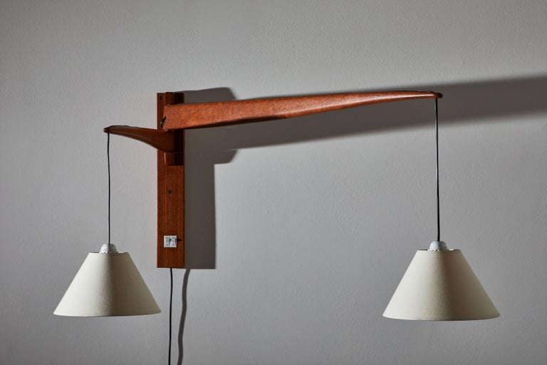 Swedish Wall Light by ASEA For Sale