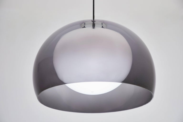 Acrylic Pendant Lamp by Tito Agnoli for Oluce For Sale