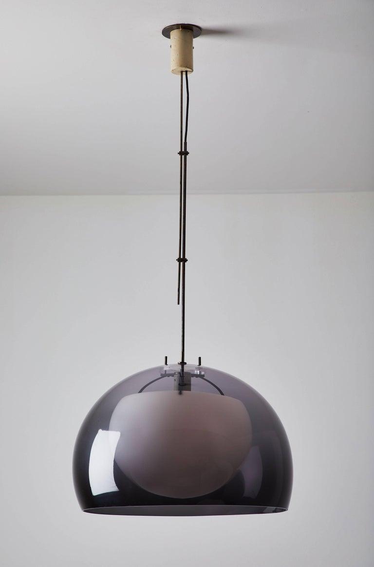 Italian Pendant Lamp by Tito Agnoli for Oluce For Sale