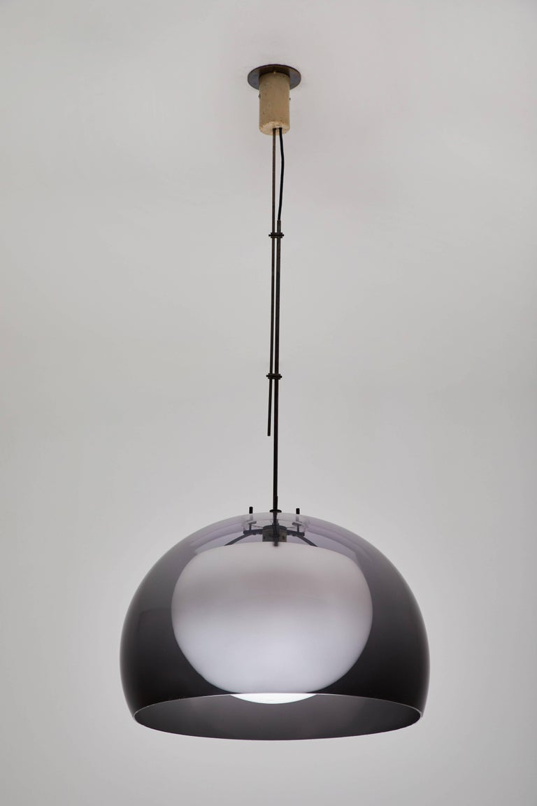 Mid-20th Century Pendant Lamp by Tito Agnoli for Oluce For Sale