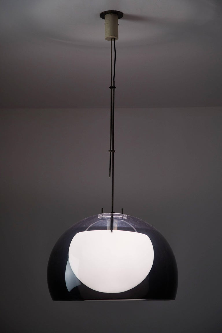 Pendant Lamp by Tito Agnoli for Oluce In Good Condition For Sale In Los Angeles, CA