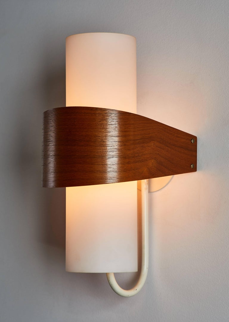 Four NX40 Wall Lights by Louis Christaan Kalff for Phillips  2