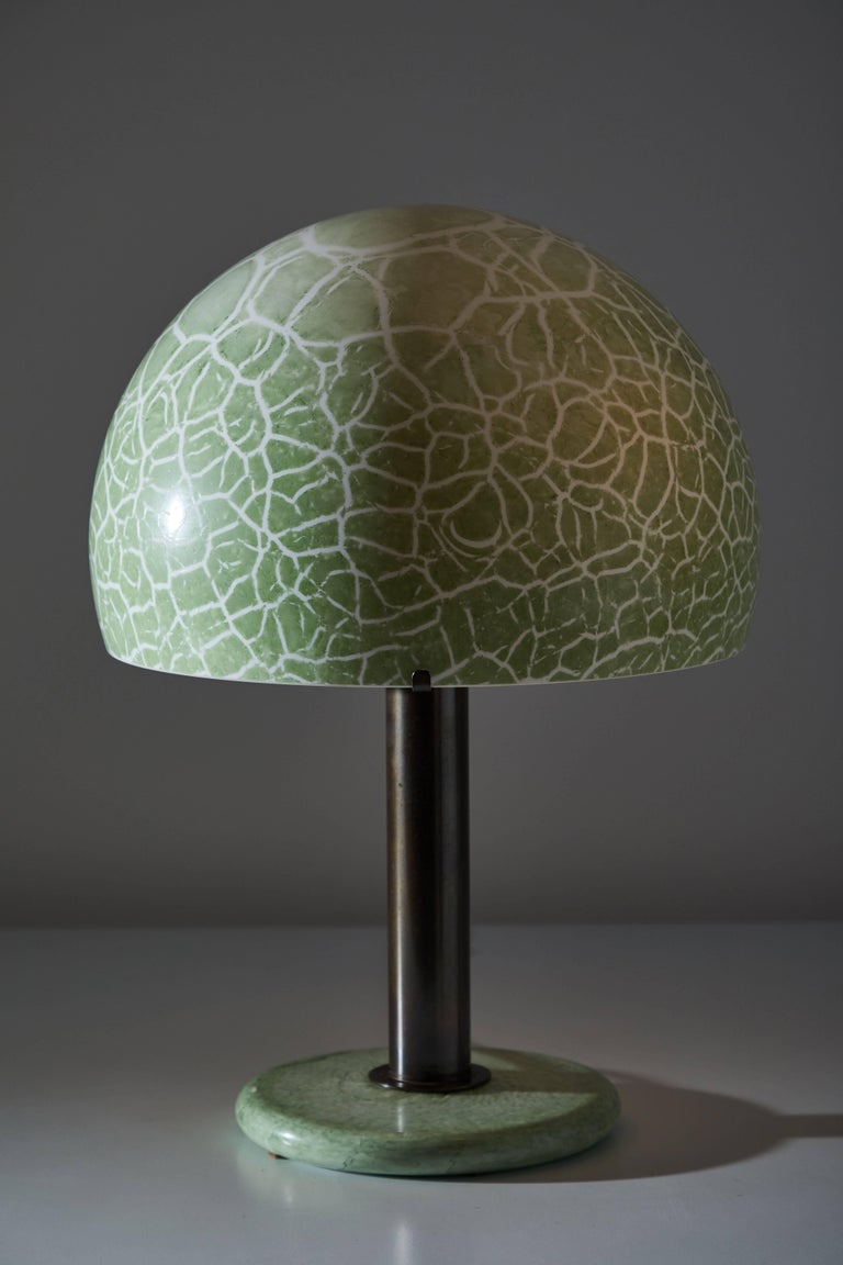 Italian Model 832 Table Lamp by Venini For Sale