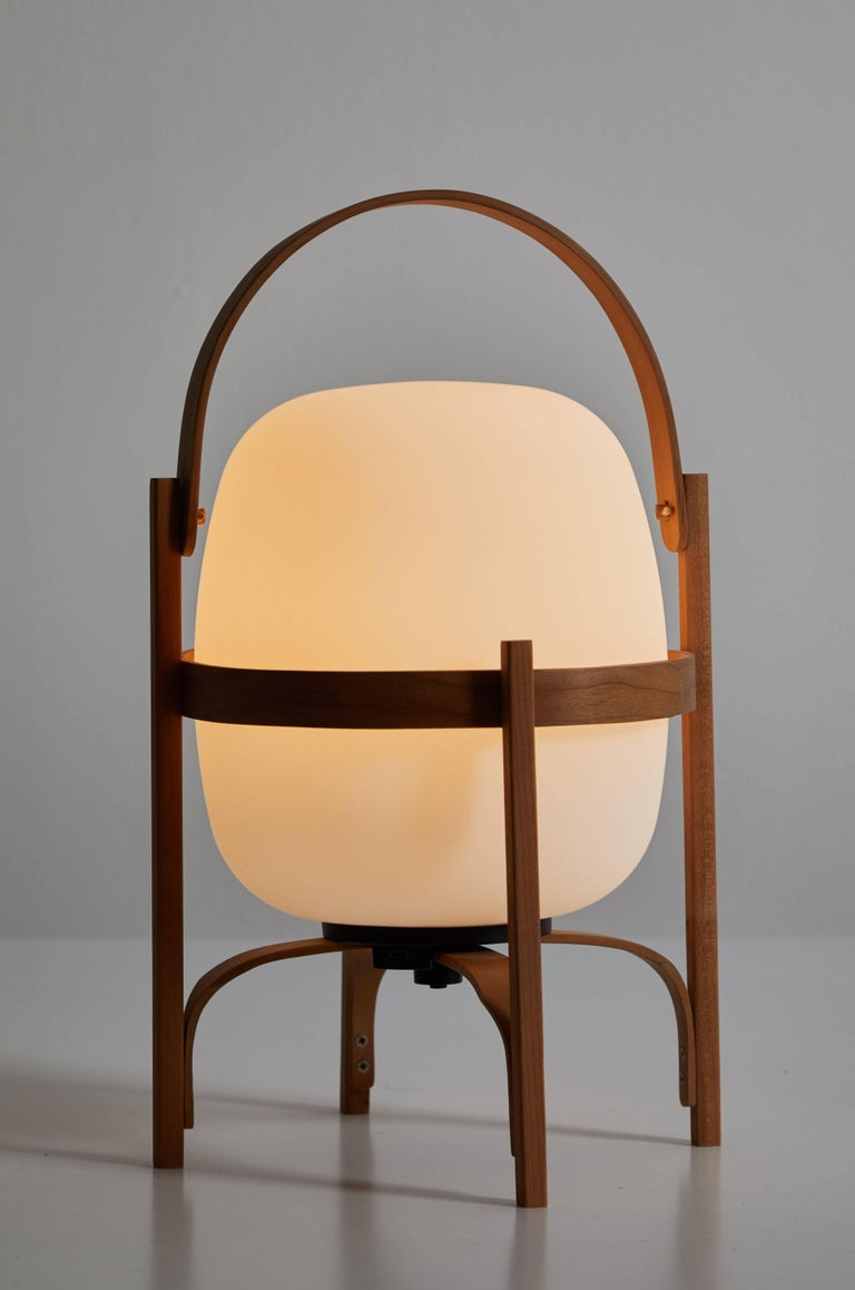 Cestita Batería Table Lamp by Miguel Milá for Santa & Cole In Excellent Condition For Sale In Los Angeles, CA