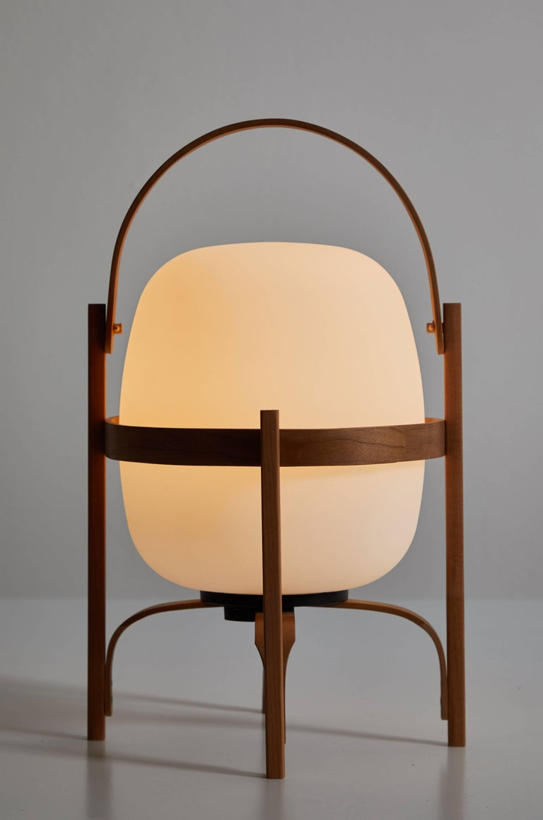 Contemporary Cestita Batería Table Lamp by Miguel Milá for Santa & Cole For Sale