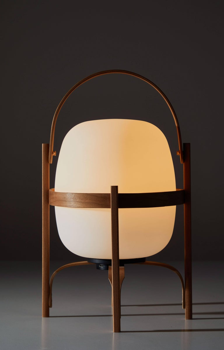 Mid-Century Modern Cestita Batería Table Lamp by Miguel Milá for Santa & Cole For Sale